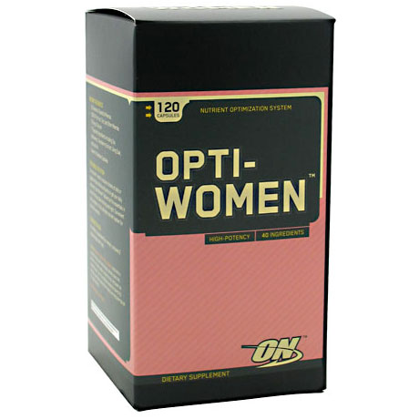 Optimum Nutrition Opti-Women Multivitamin, Womens Multi Vitamins, 120 capsules