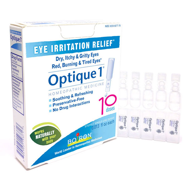 Optique 1 Eye Drops, Eye Irritation Relief 10 dose from Boiron