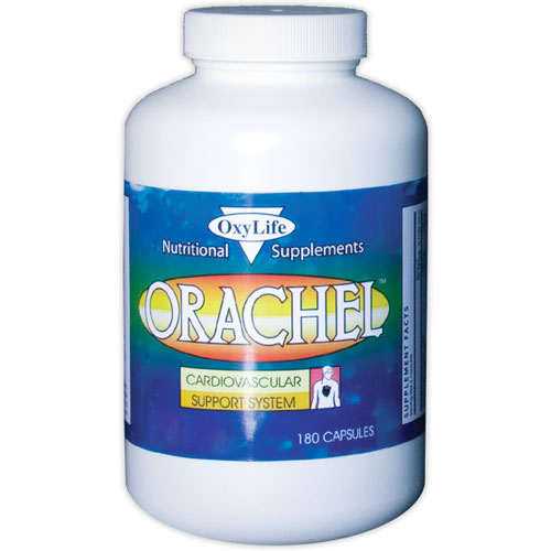 Orachel, Cardiovascular Support, 180 Capsules, Oxylife Products