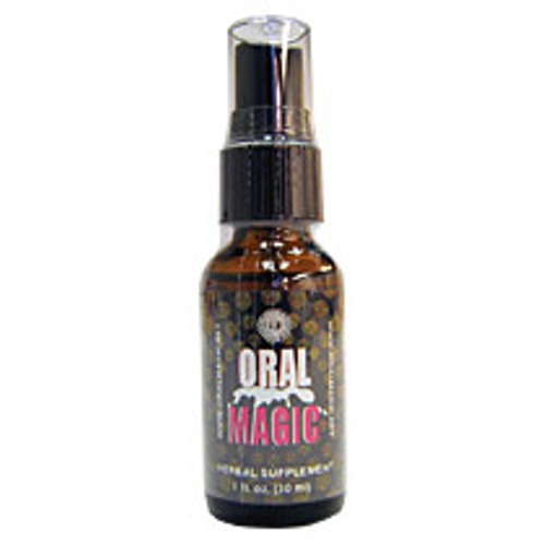Oral Magic, Mint Flavor, 1 oz, Herbal Groups