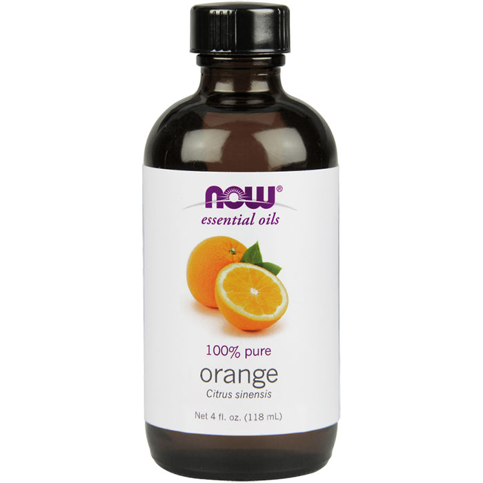 Orange Oil Sweet, 4 oz, NOW Foods