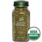 Oregano Leaf Cut & Sifted, 0.75 oz, Simply Organic