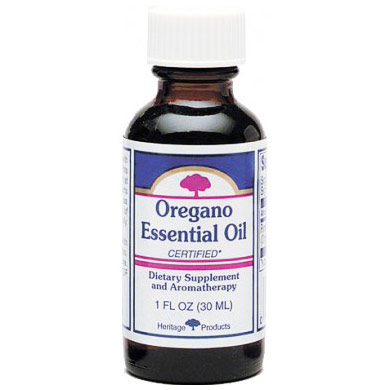 Oregano Essential Oil, 1 oz, Heritage Products