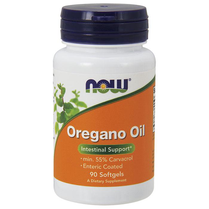 Oregano Oil Enteric Coated, 90 Softgels, NOW Foods