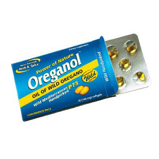 Oreganol P73 Blister Pack, 10 Softgels, North American Herb & Spice