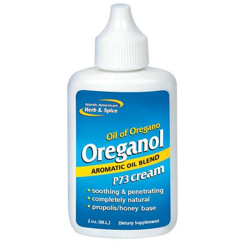Oreganol P73 Cream, Oil of Oregano, 2 oz, North American Herb & Spice