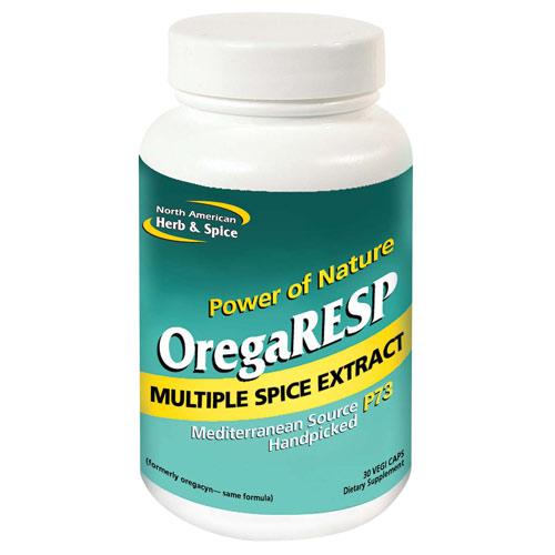 OregaRESP P73, 30 Vegicaps, North American Herb & Spice