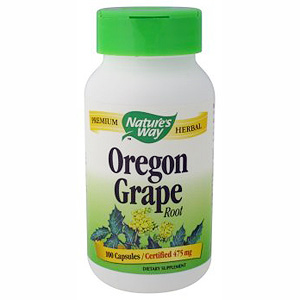 Oregon Grape Root 100 caps from Natures Way