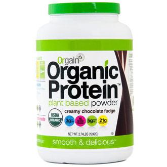 Orgain Organic Protein Plant Based Powder, 2.74 lb