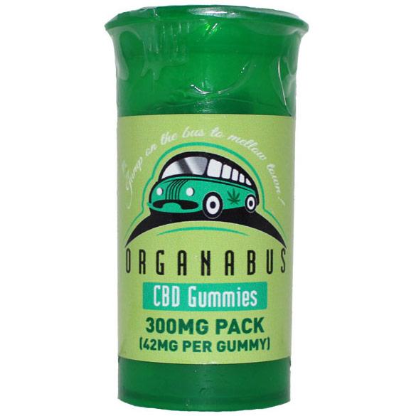 Organabus CBD Gummies, 7 Pack, Glow Industries