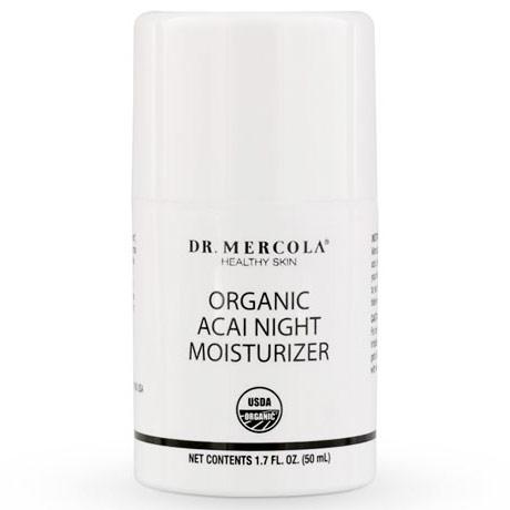 Organic Acai Night Moisturizer, 1.7 oz, Dr. Mercola