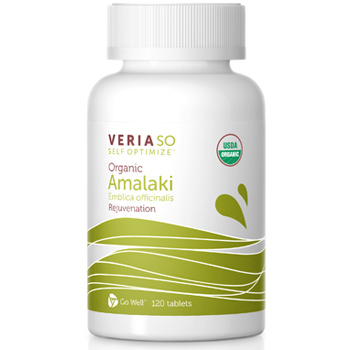 Veria SO Self Optimize Organic Amalaki, Rejuvenation, 120 Tablets