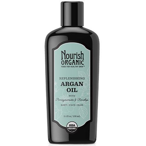 Replenishing Organic Argan Oil, 3.4 oz, Nourish