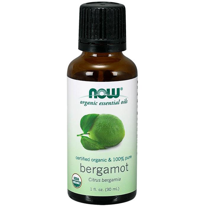 Organic Bergamot Oil, 1 oz, NOW Foods