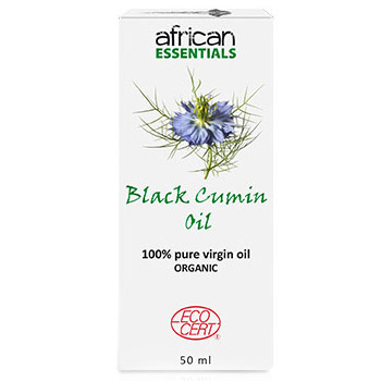 Organic Black Cumin Oil, 50 ml, African Essentials
