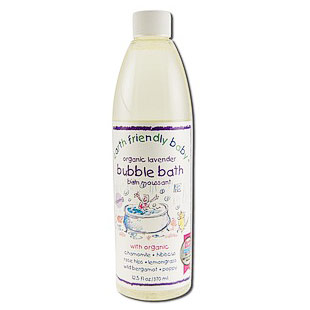 Organic Bubble Bath - Sleeptime Lavender, 12.5 oz, Earth Friendly Baby
