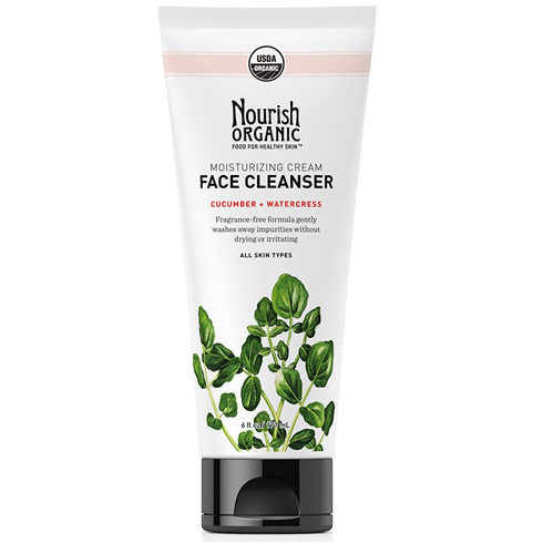 Moisturizing Organic Face Cleanser, 6 oz, Nourish