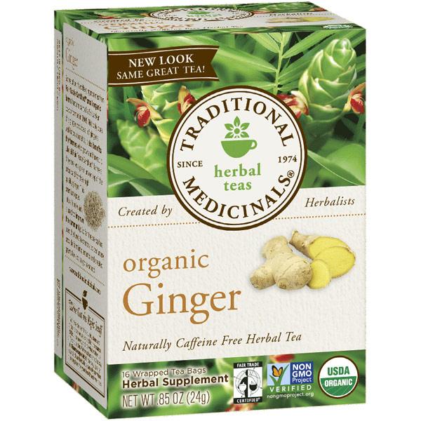 Organic Ginger Tea 16 bags, Traditional Medicinals Teas