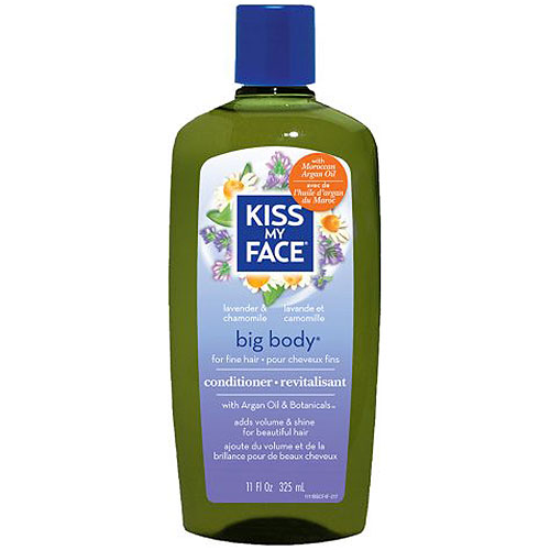 Organic Hair Care Paraben Free, Big Body Conditioner 11 oz, from Kiss My Face