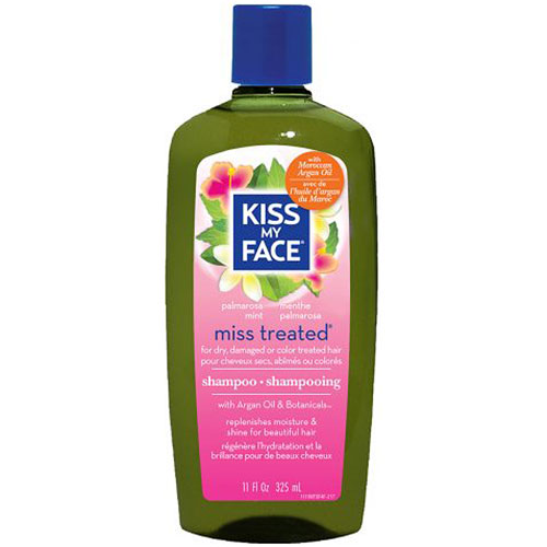 Organic Hair Care Paraben Free, Miss Treated Shampoo 11 oz, from Kiss My Face
