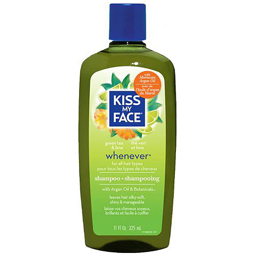 Organic Hair Care Paraben Free, Whenever Shampoo 11 oz, from Kiss My Face