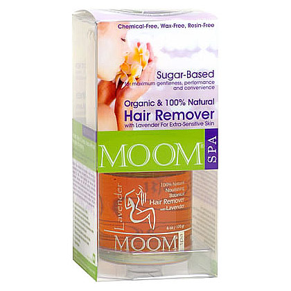 Organic Hair Removal Kit with Lavender (SPA Formula), MOOM