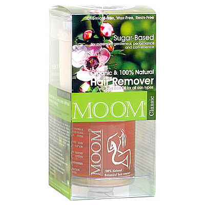 Organic Hair Removal Kit with Tea Tree (Classic), MOOM
