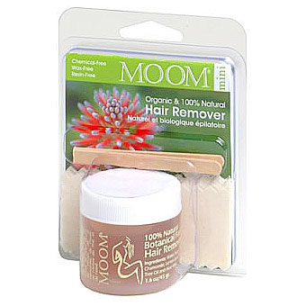 Organic Hair Remover, Face/Travel Kit, MOOM