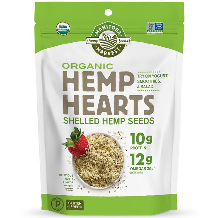 Organic Hemp Hearts Shelled Hemp Seeds, Value Size, 5 lb, Manitoba Harvest Hemp Foods