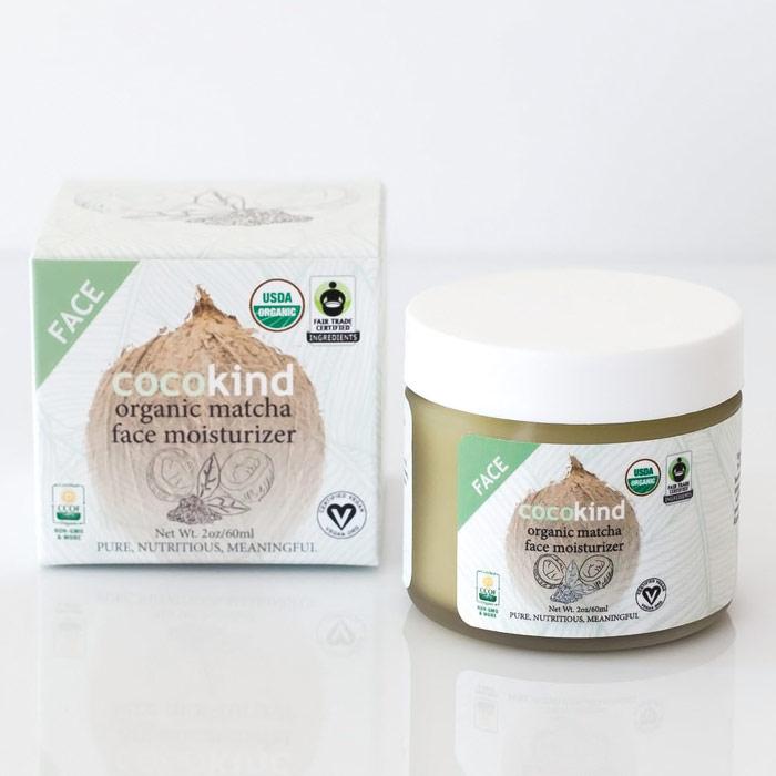Organic Matcha Face Moisturizer, 2 oz, Cocokind Coconut Oil Skincare
