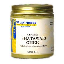 Organic Shatawari Ghee (not for cooking), 7 oz, Vadik Herbs