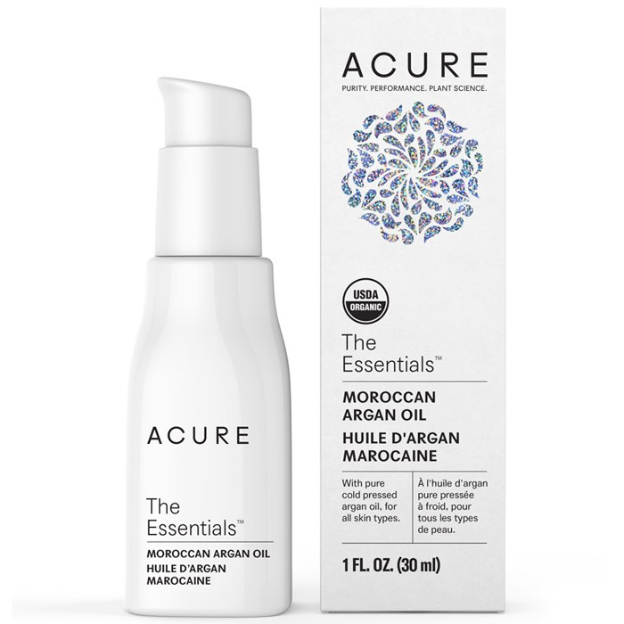 Acure Organic Moroccan Argan Oil, Treatment for All Skin Types, 1 oz