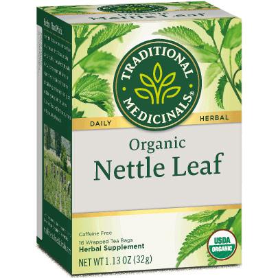 Organic Nettle Leaf Tea, 16 Tea Bags, Traditional Medicinals Teas