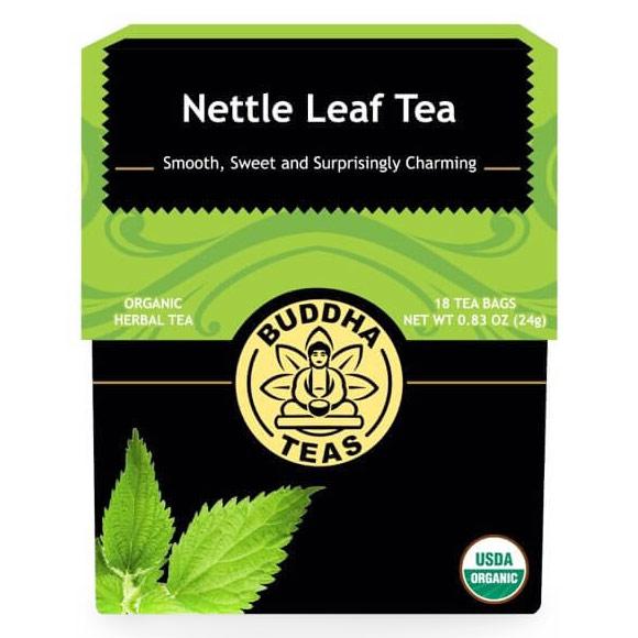 Organic Nettle Leaf Tea, 18 Tea Bags, Buddha Teas