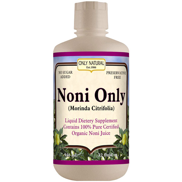 Organic Noni Only Juice, 32 oz, Only Natural Inc.