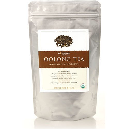 Organic Oolong Tea Loose Leaf, 8 oz, Extreme Health USA