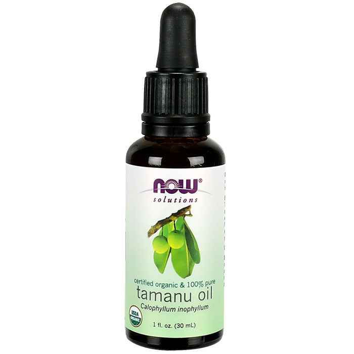 Organic Tamanu Oil, 1 oz, NOW Foods