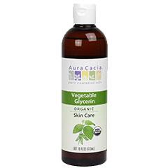 Image of Organic Vegetable Glycerin, Hair & Skin Care, 16 oz, Aura Cacia