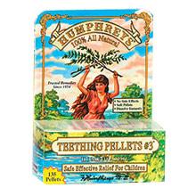 Original Flavor Teething Pellets #3, 135 Pellets, Humphreys Homeopathic Remedies