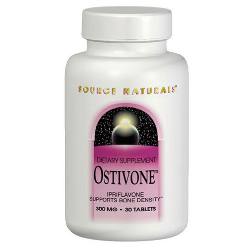 Ostivone Ipriflavone 300mg 60 tabs from Source Naturals