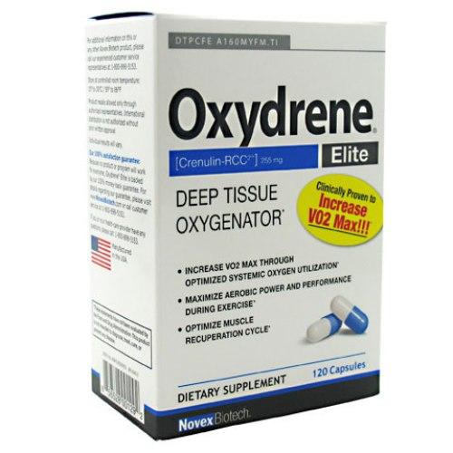 Oxydrene Elite, Deep Tissue Oxygenator, 120 Capsules, Novex Biotech