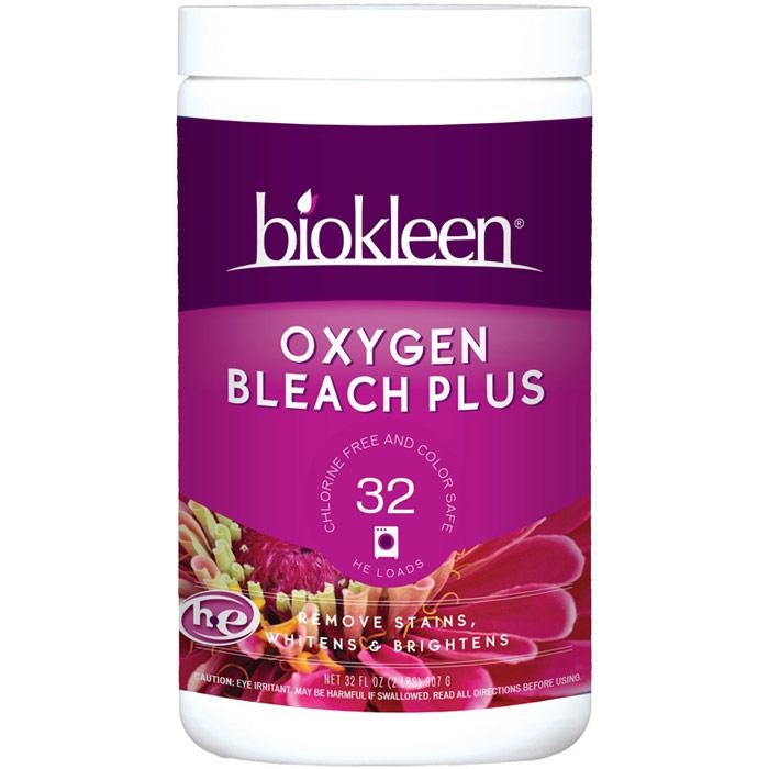 Oxygen Bleach Plus Powder, 2 lb, Biokleen