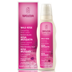 Weleda Pampering Body Lotion, Wild Rose, 6.8 oz