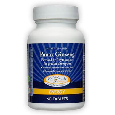 Panax Ginseng, 60 Tablets, Enzymatic Therapy