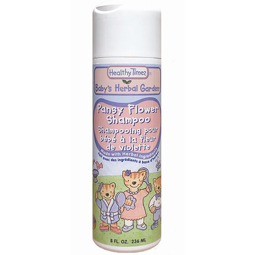 Baby's Herbal Garden Pansyflower Baby Shampoo, 8 oz, Healthy Times