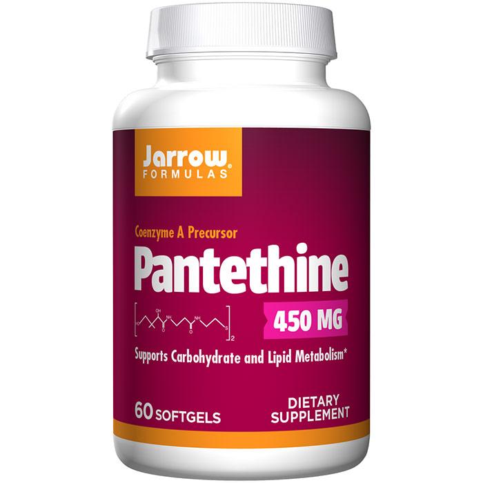 Pantethine ( Coenzyme A Precursor ) 300 mg 90 softgels, Jarrow Formulas