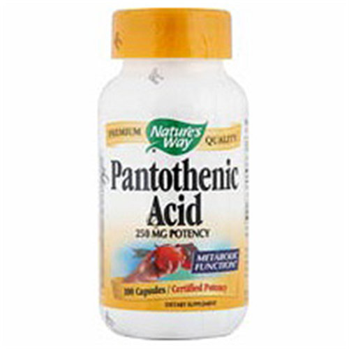 Pantothenic Acid 250mg 100 caps from Natures Way