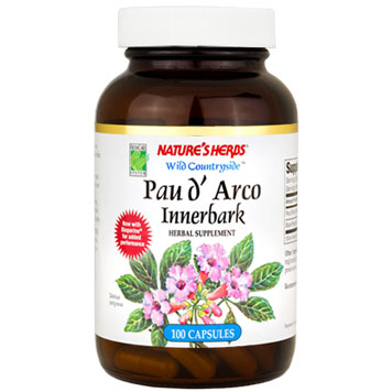 Pau DArco 100 caps from Natures Herbs