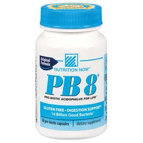 PB8 Original Formula, Pro-Biotic Acidophilus, 120 Capsules, Nutrition Now