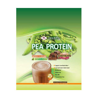 Pea Protein - Chocolate, 488 g (13 Servings), Olympian Labs